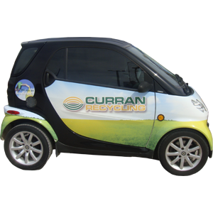 Curran Recycling Smart Car